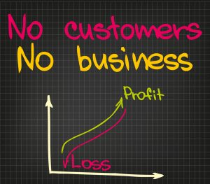 no customers equals no business