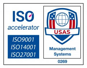 ISO9001, ISO27001, ISO14001 Certified