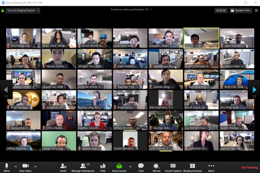 Zoom Video Conferencing – how to stay safe and secure whilst using it