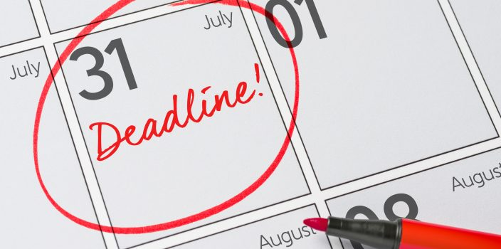 Budget Deadline