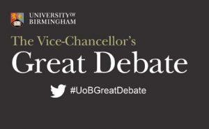 Birmingham University Great Debate